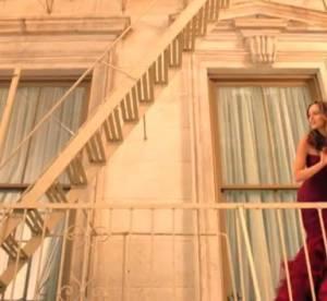 Leighton Meester : Juliette moderne pour Vera Wang