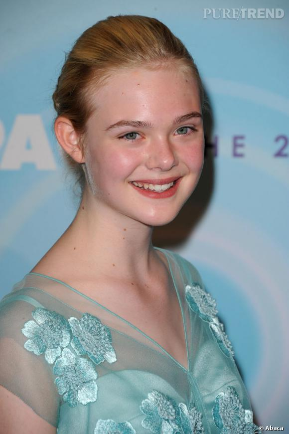Elle Fanning aux Women In Film Crystal   Lucy Awards, à Beverly Hills.