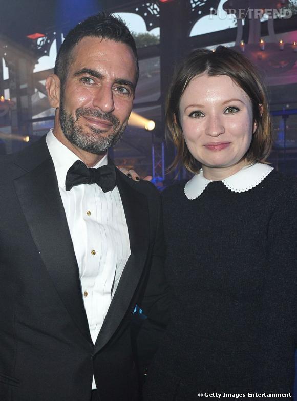 Emily Browning et Marc Jacobs, à l'amfAR Inspiration.