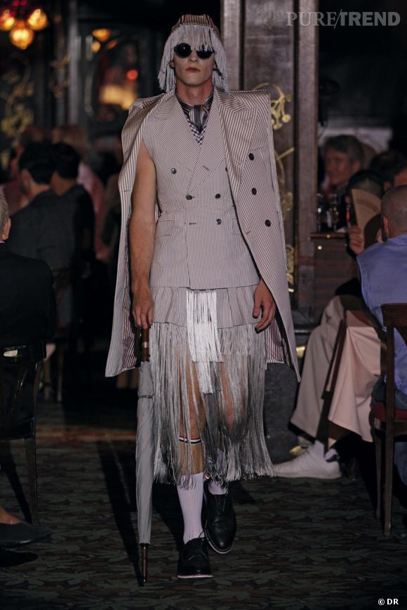 Défilé Thom Browne printemps-été 2012