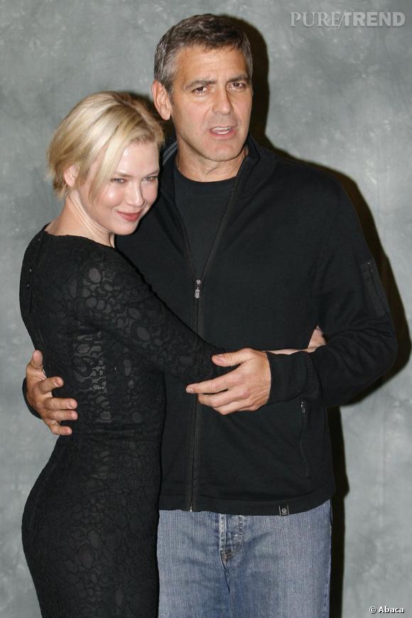 La proie  : Renee Zellweger, actrice US.    Durée de la romance  : 2001 à 2002.