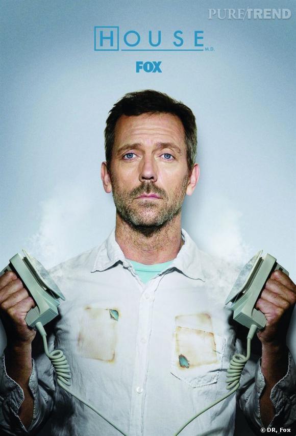 Star du petit écran, Hugh Laurie a mis KO le Dr Mamour de Grey's Anatomy.