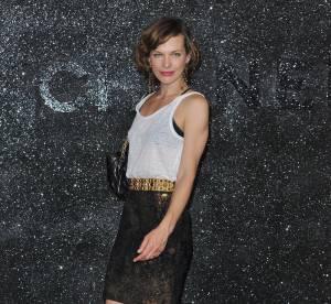 Milla Jovovich, transparence chez Chanel
