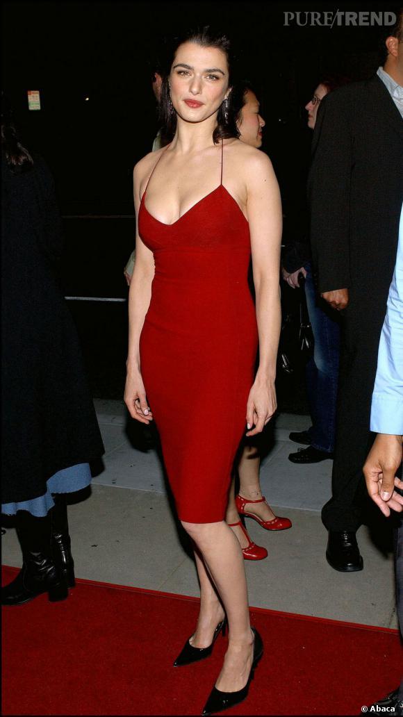 2003 : Très sexy, Rachel affiche ENFIN sa plastique sculpturale.
