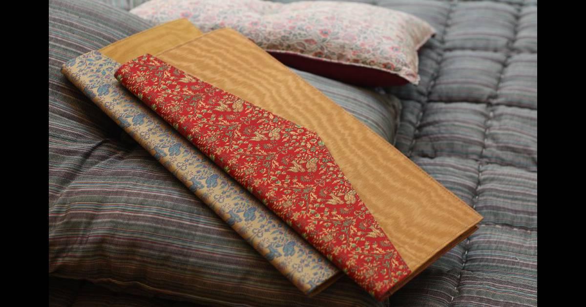 pochettes ultra plates imprim ethnique chic. Black Bedroom Furniture Sets. Home Design Ideas