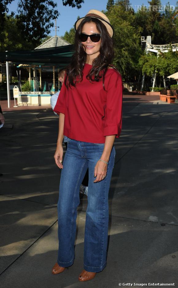 Katie Holmes, jeune prodige de la mode.