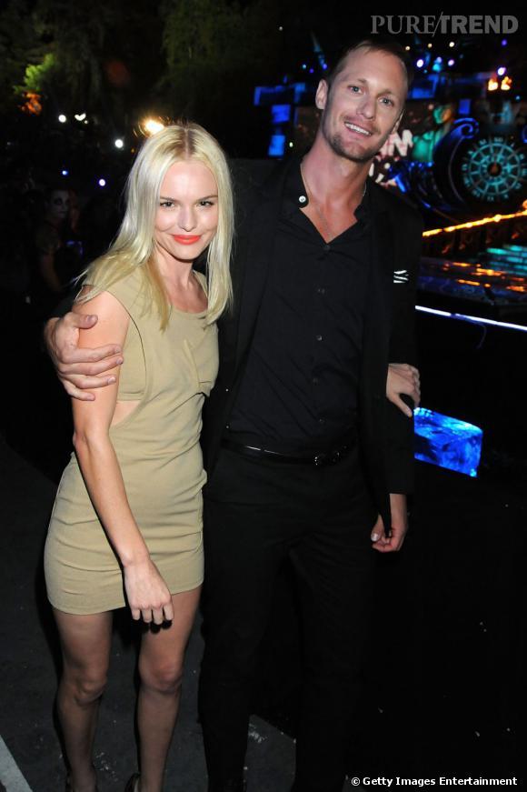 C'est avec Kate Bosworth qu'Alexander Skarsgard vit sa relation la plus médiatique. Après deux ans, le couple s'est séparé il y a quelques jours.