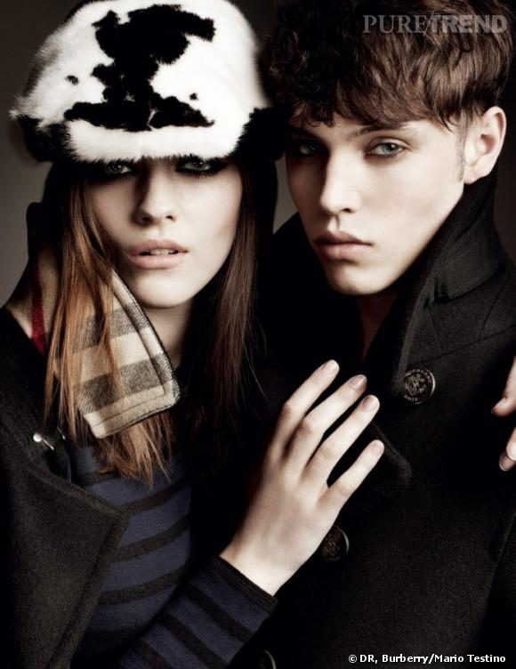 Campagne Burberry, automne-hiver 2011/2012.