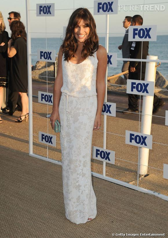Lea Michele à la soirée Fox All Star Party à Malibu.