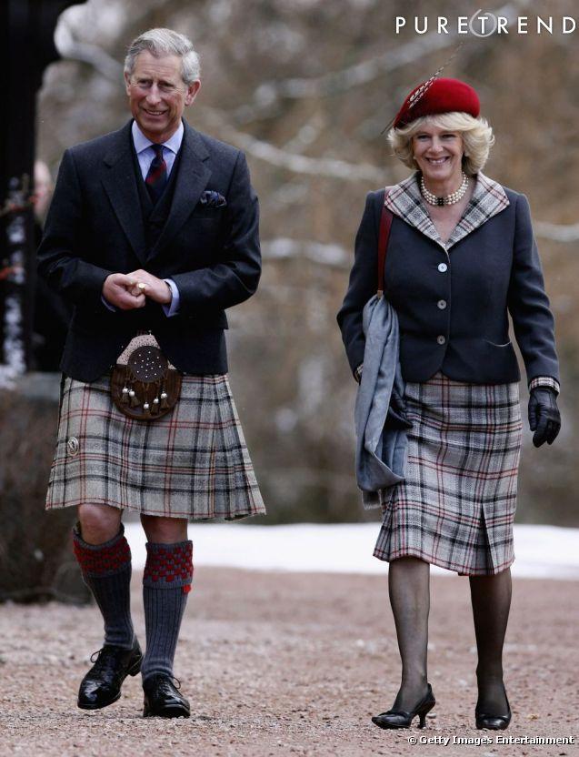 Tradition oblige, le Prince Charles a revêtu le kilt pour ...