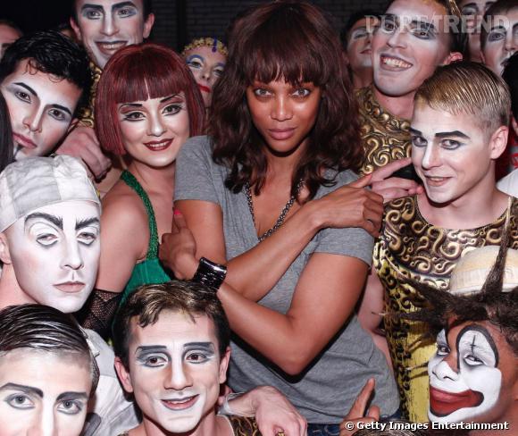 Tyra Banks, bien entourée ?