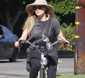 Hilary Duff, future maman active
