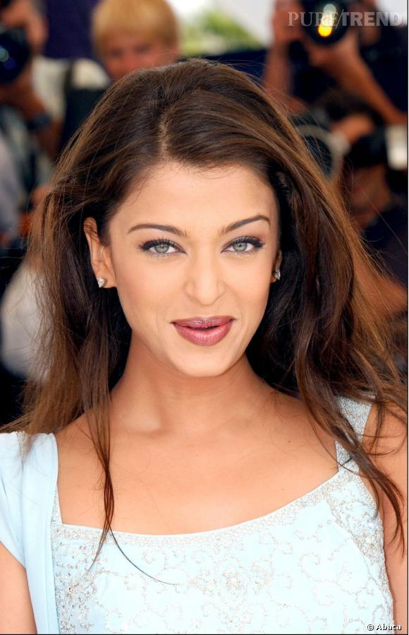 Aishwarya Rai , une beauté indienne aux yeux de biche, sacrée  Miss Monde  en 1994.