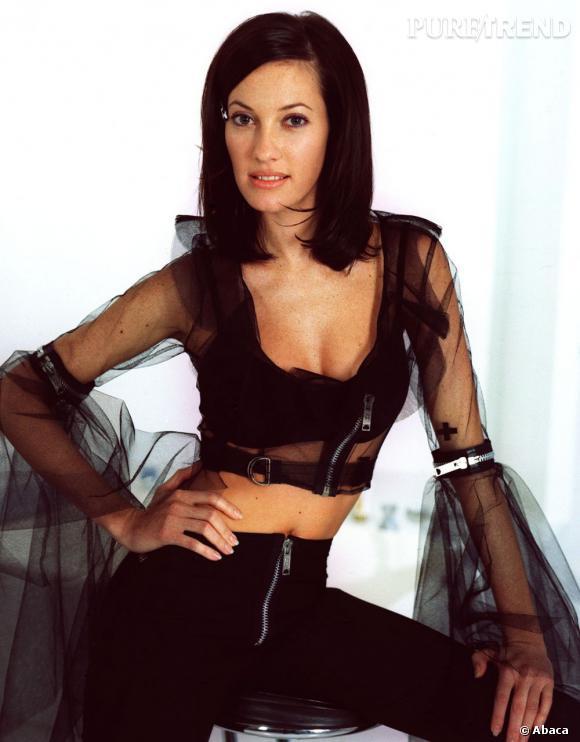 Mareva Galanter , en mode 60's après avoir été élue  Miss France  1999.