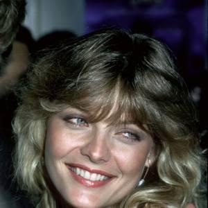"""Michelle Pfeiffer, une reine de beauté aux faux-airs de Blondie peu de temps après avoir remporté son titre de """"Miss Orange County"""" en 1978."""