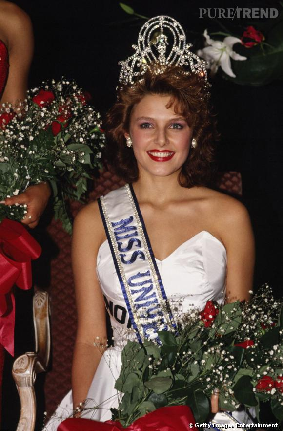 Miss Univers 1990, Miss Norvège, Mona Grudt.