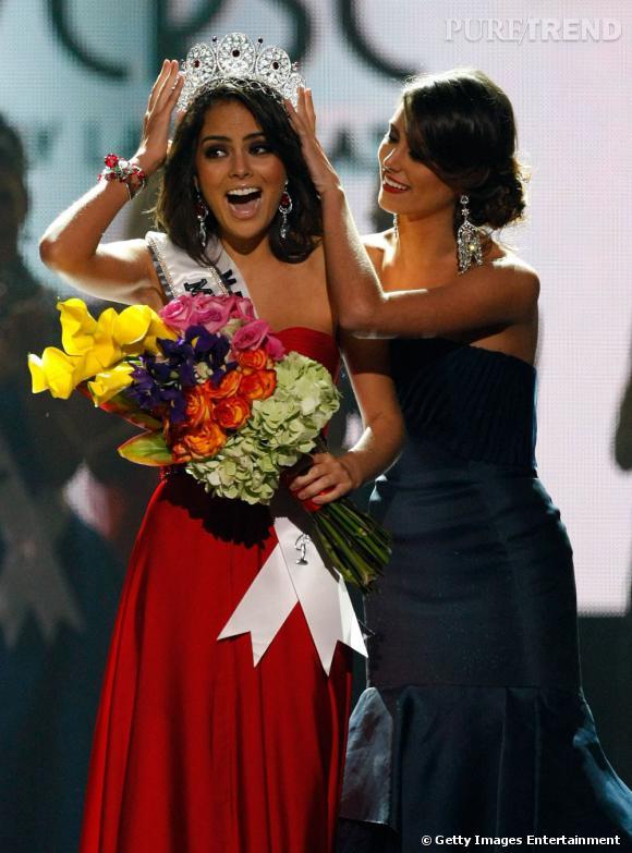 Le titre de Miss Univers 2010 revient à Miss Mexique, Jimena Navarrete.