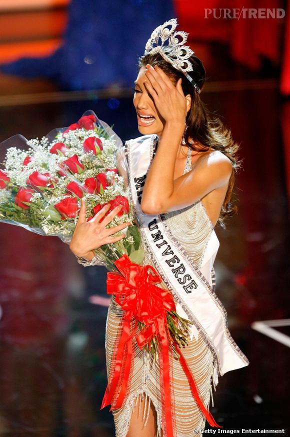 Miss Univers 2006, Miss Porto Rico Zuleyka Rivera Mendoza, ne s'en remet pas !