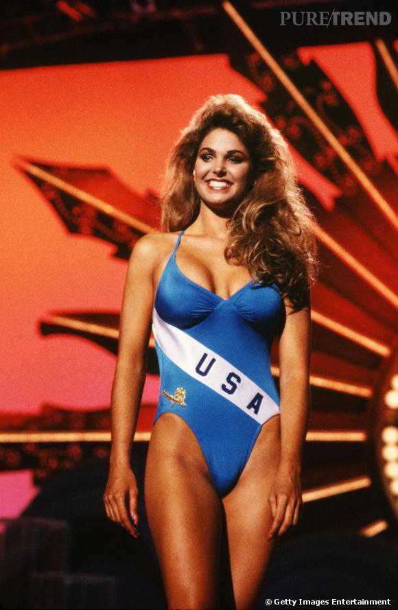 En, 1989, Miss USA arrive seconde au concours de Miss Univers.