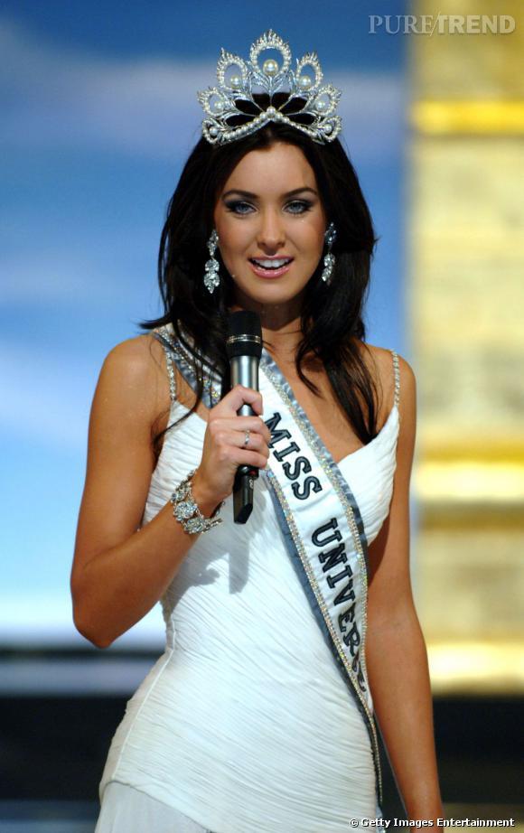 Miss Univers 2005, Natalie Glebova, Miss Canada.