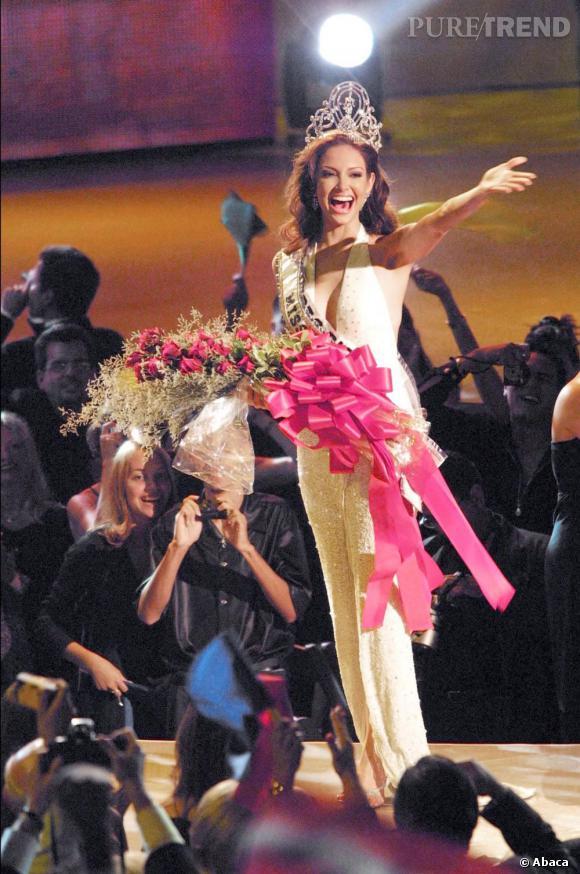 Miss Univers 2001 est Miss Porto Rico, Denise Quinoses.