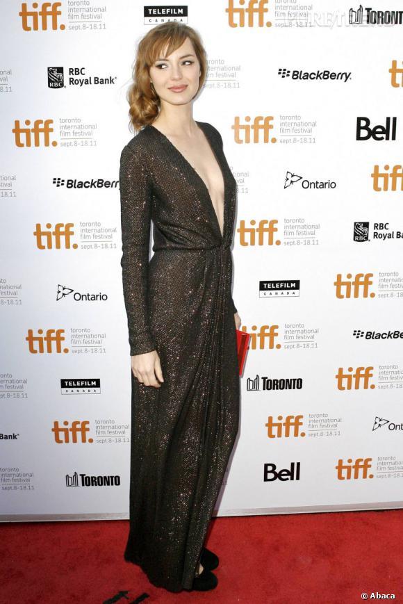 Louise Bourgoin au Festival du Film de Toronto.