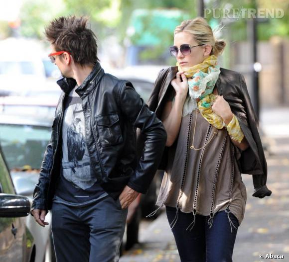 Kate Hudson dans les rues de Londres.