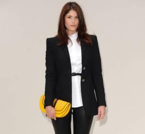 Gemma Arterton : audace et cuir... A shopper !