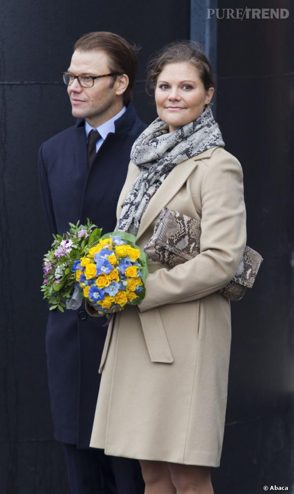 Princesse Victoria de Suède en visite officielle à Turku, en Finlande.