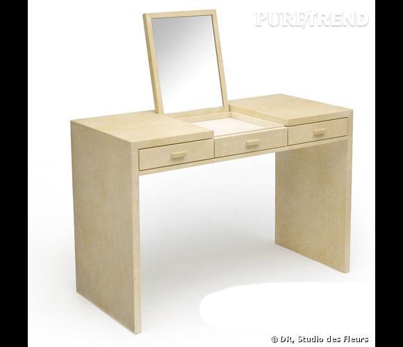 coiffeuse jean michel frank pour herm s prix sur demande puretrend. Black Bedroom Furniture Sets. Home Design Ideas