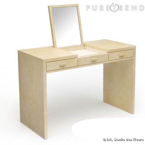 coiffeuse jean michel frank pour herm s prix sur demande. Black Bedroom Furniture Sets. Home Design Ideas