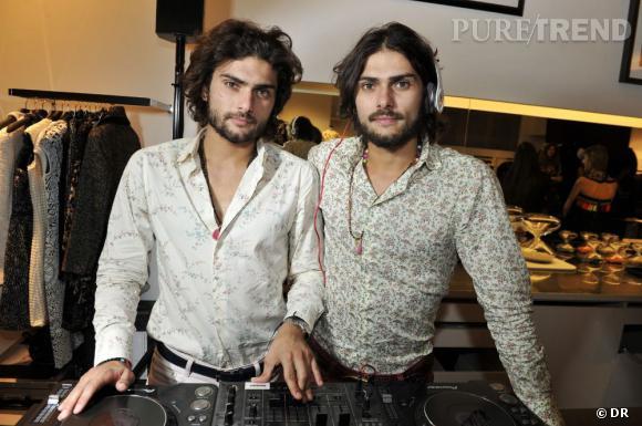 Les DJs Adrien et Anthony.