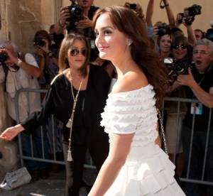 Leighton Meester, une princesse a Paris