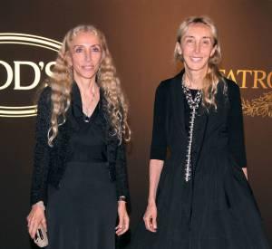 Les modeuses : Franca Sozzani, rédactrice en chef du Vogue italien au côté de sa soeur Carla Sozzani, directrice d'un des magazines les plus cotés de Milan. Comme quoi, c'est de famille.