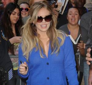 Hilary Duff, la future maman renoue avec le style