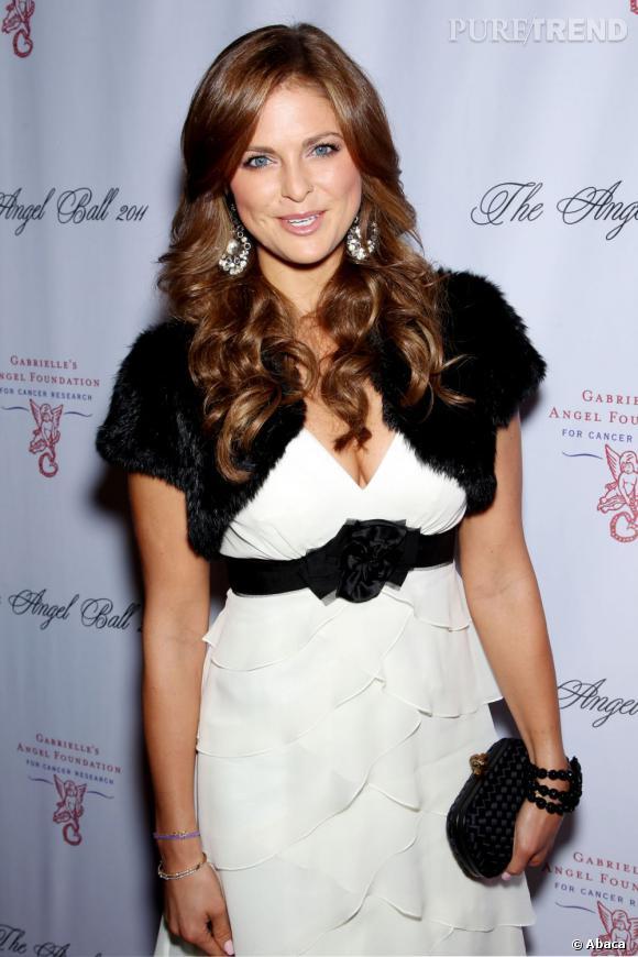 Princesse Madeleine de Suède au Angel Ball 2011 à New York.