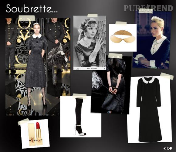 In the Mood for... un look de soubrette.