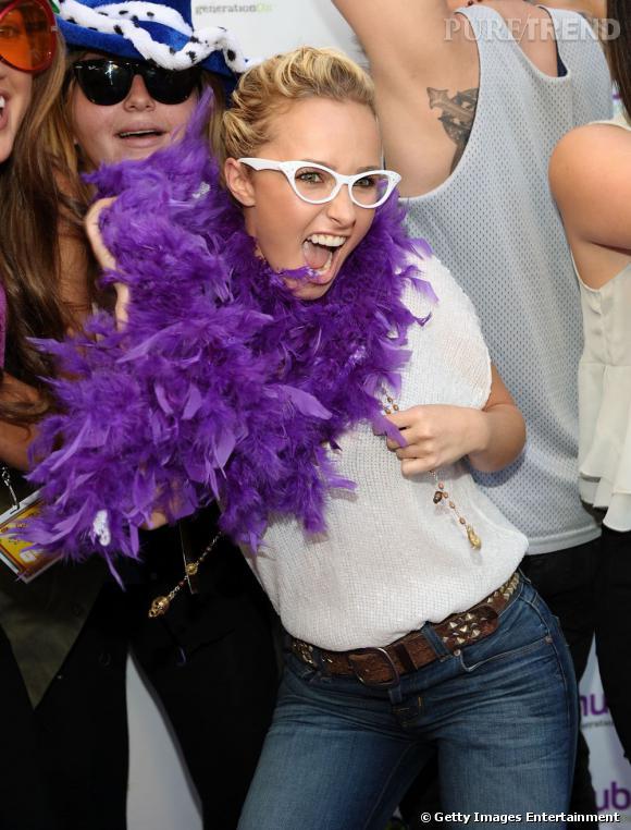 Hayden Panettiere à l'évènement Power of Youth à Hollywood.