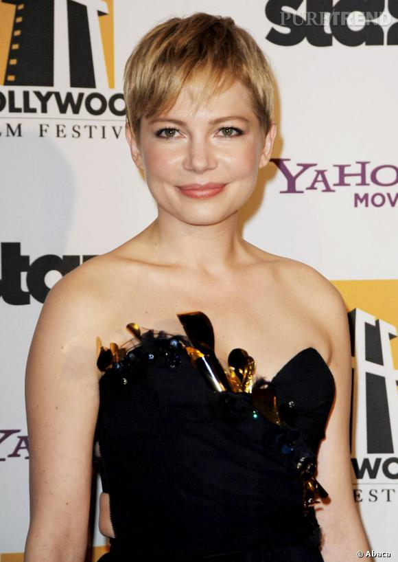 Michelle Williams aux Hollywood Film Gala Awards.