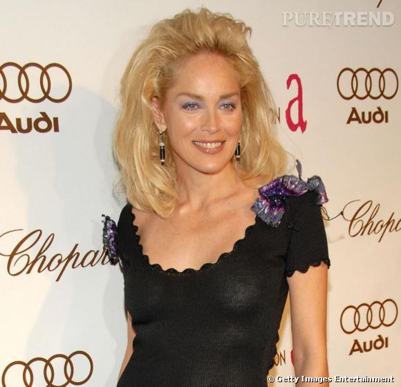 """Le flop brushing : au secours, on se croirait dans """"Santa Barbara"""", Sharon est en plein revival années 90."""