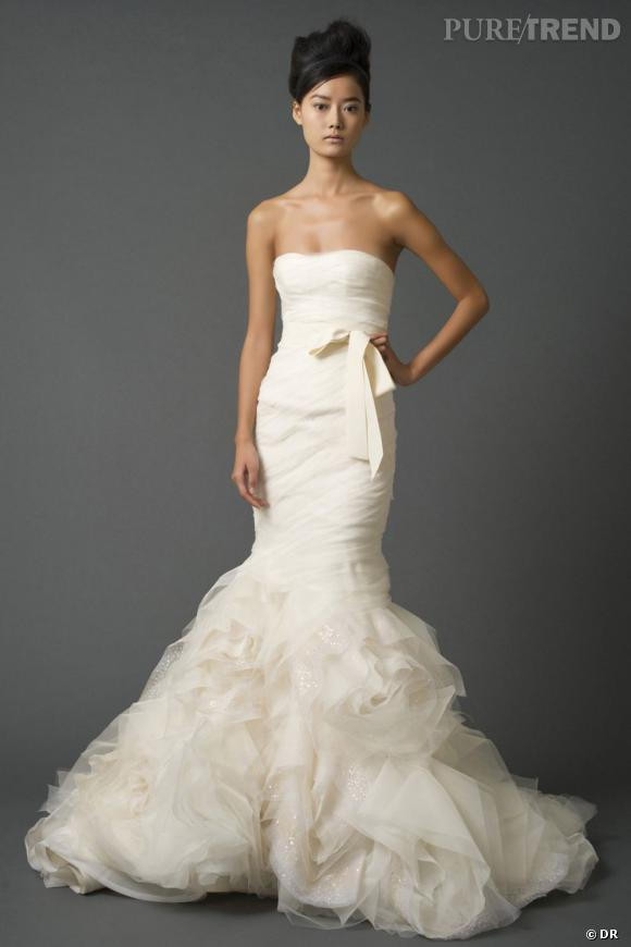 Les plus belles robes de mariée Printemps,Eté 2012 ! Vera Wang Prix  7330 \u20ac chez Metal Flaque.