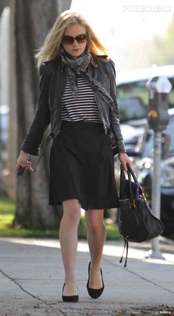 Anna Paquin dans les rues de Beverly Hills.