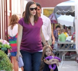 Jennifer Garner, enceinte et bien coachée