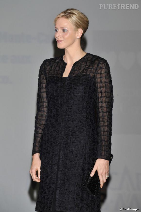 """Charlene Wittstock lors de """"La Nuit Des Associations"""" à Monaco."""
