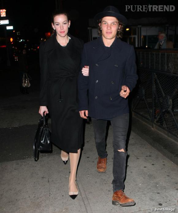 Liv Tyler et Theo Wenner dans les rues de New York.
