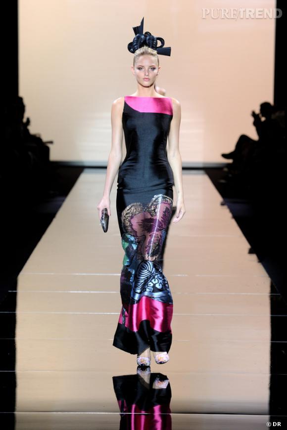 Giorgio armani hommage au japon le couturier italien revient le temps d 39 u - Mode japonaise paris ...