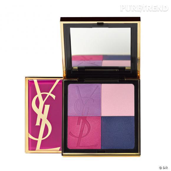 """Collection """"Candy Face"""" d'Yves Saint Laurent, Printemps 2012. Vinyl Candy Palette, 48€"""