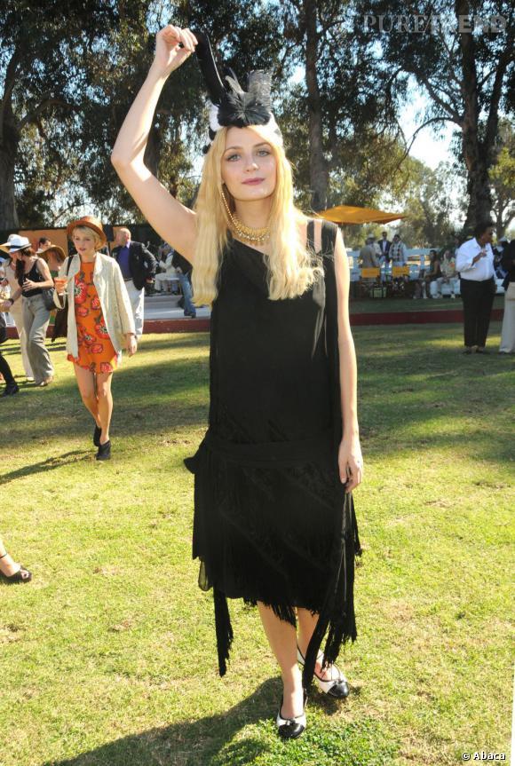 Le flop robe longue : OMG, Mischa Barton dans le trip sorcière, ça passe pas !
