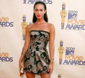 Megan Fox vs Elsa Pataky : la robe brocart Dolce and Gabbana