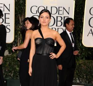 Golden Globes 2012 : Mila Kunis, sobre mais sensuelle